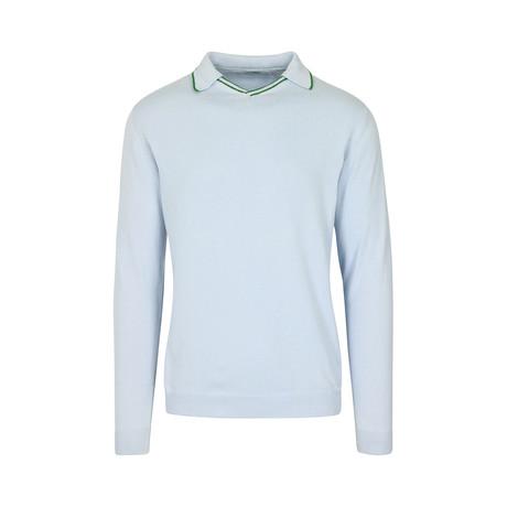 Folio Slim Fit Polo Shirt // Sky Blue (S)