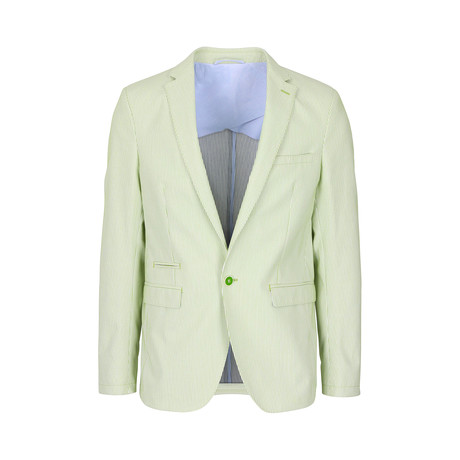 Arthur Slim Fit Blazer // Green (XL)