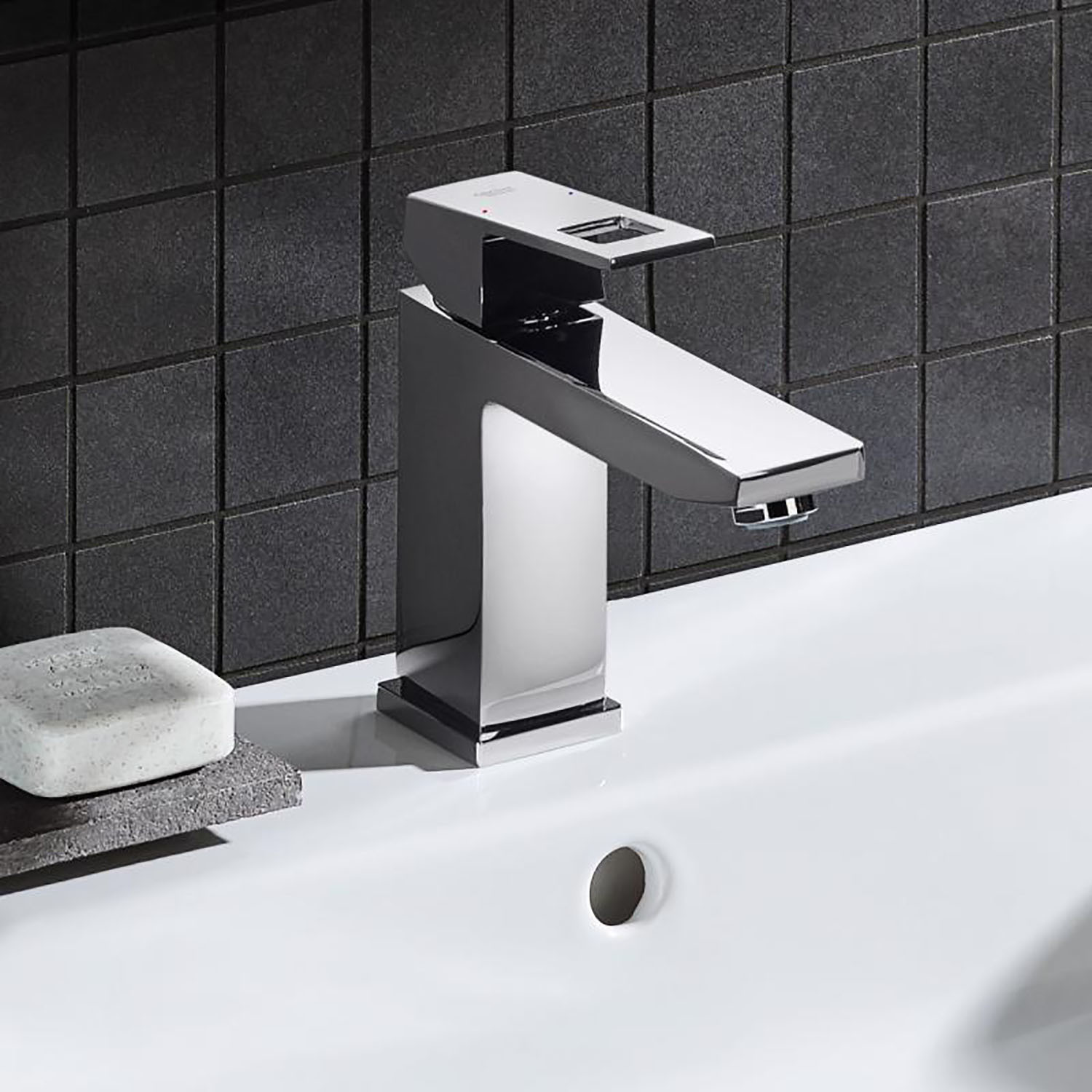 Grohe Eurocube Chrome Bathroom Faucet - TOTO - Touch of Modern