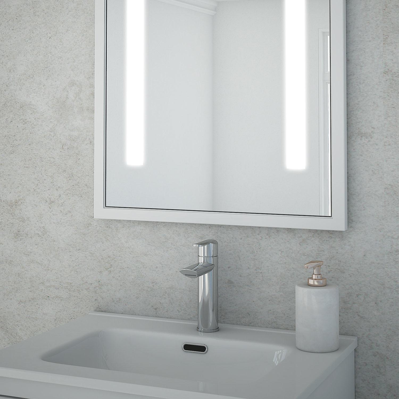 Baden Haus Retro LED Bathroom Mirror - Sasha LED - Touch of Modern