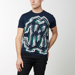 Antero T-Shirt // Navy Blue (L)