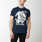 Chiera T-Shirt // Navy Blue (S)
