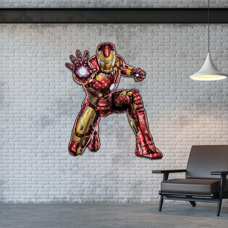 Iron Man // LV x Supreme