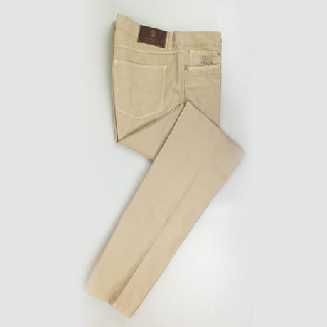 Cotton Casual Pants // Khaki (Euro: 54)