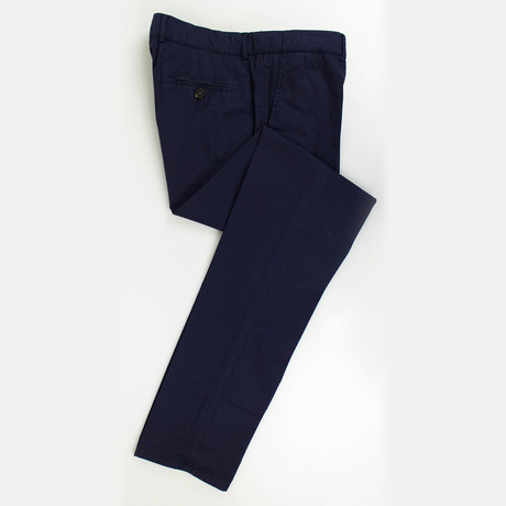 Cotton Casual Pants // Navy (Euro: 44)