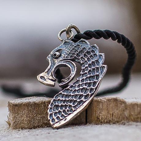 Vikings Collection // Drakkar Pendant I // The Head of Viking Ship