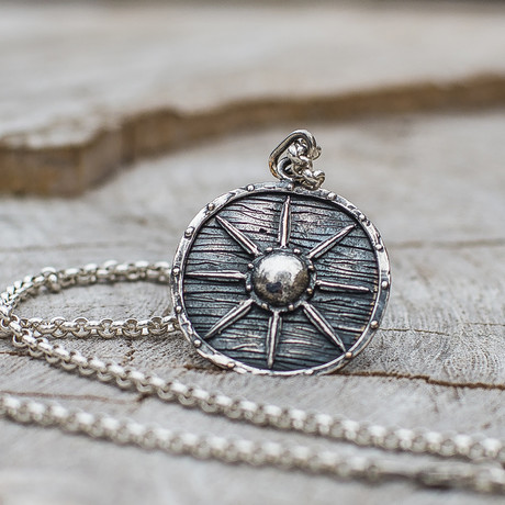 Viking Shields Collection // Viking Shield 8 // Silver