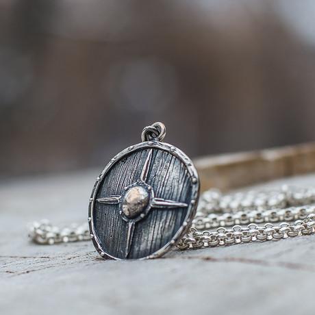 Viking Shields Collection // Viking Shield 4 // Silver