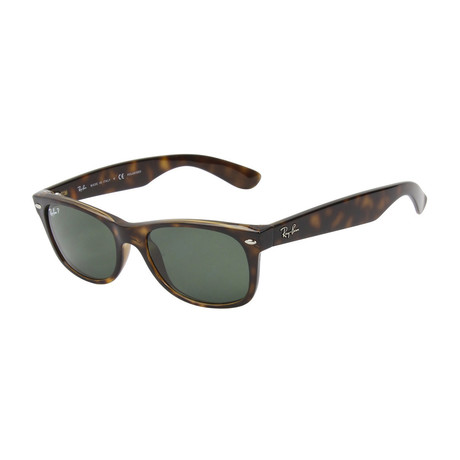 Ray-Ban // New Wayfarer // Havana + Crystal Green // Polarized