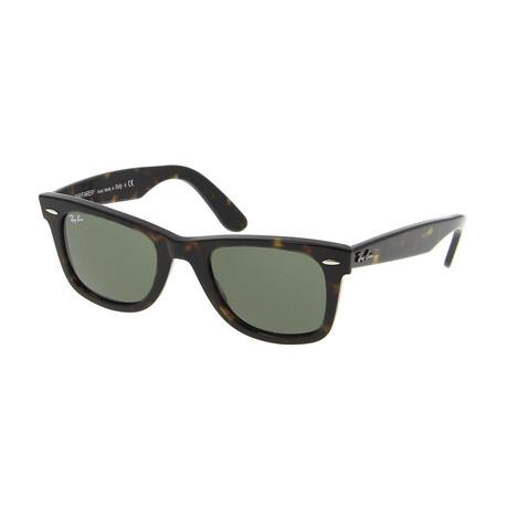 Classic Wayfarer // Tortoise + Green