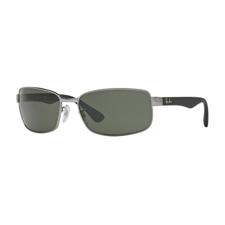 Wrap // Gunmetal + G15 Green // Polarized