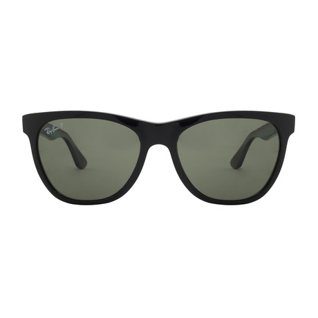 RB4184 // Black + Green // Polarized