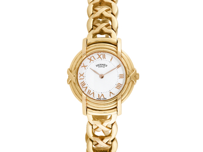 Photo of Stunning Ladies Timepieces Sophisticated Luxury Watches Hermes Ruban Quartz // Pre-Owned by Touch Of Modern