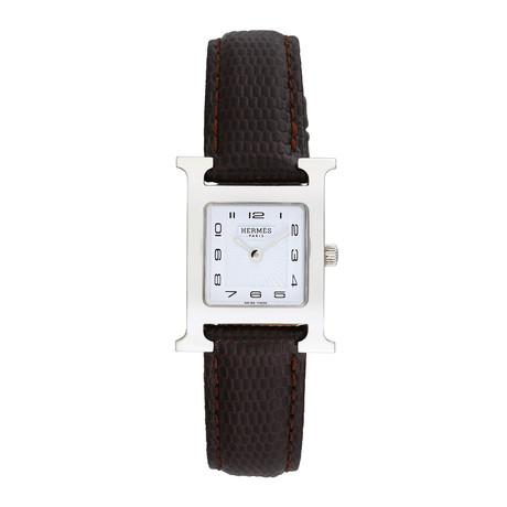Hermes H Watch Quartz // 793-TM10151 // Pre-Owned