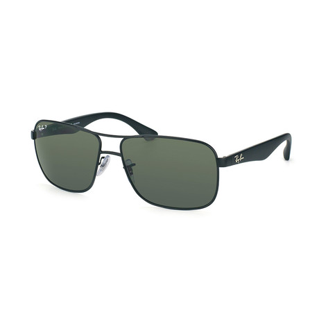 Navigator // Matte Black + G15 Green // Polarized