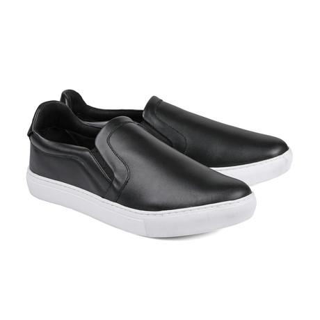 Gavin Slip-On Sneakers // Black (Euro: 39)