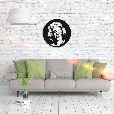 Metal Poster // Marilyn Monroe