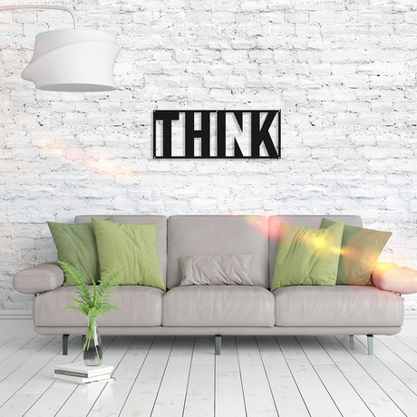 Metal Poster // Think