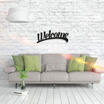 Metal Poster // Welcome