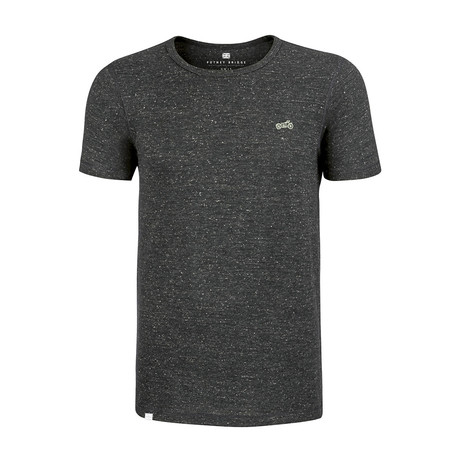 Biker T-Shirt // Heather Gray