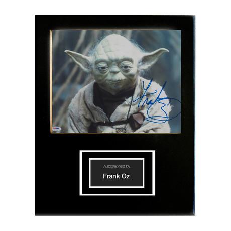 Framed Autographed Artist Series // Yoda