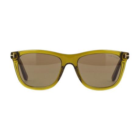 Men's Andrew Sunglasses // Olive + Brown