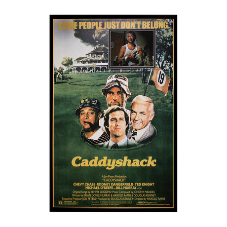 Framed Autographed Photo Insert // Caddyshack