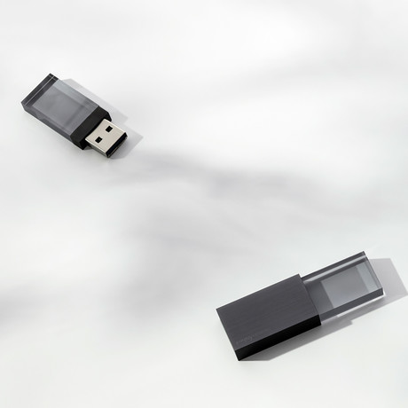 Empty Memory // Transparency // USB Memory Stick (Silver)