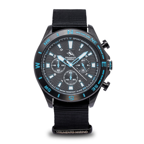 Strumento Marino Sport Marine Chronograph Quartz // SM123N/BK/NR/CL