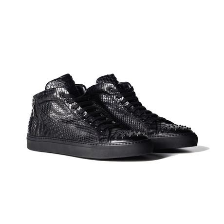Ferrox Python X Stud High Top Sneaker