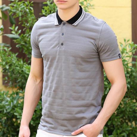 Rufus Polo Shirt // Dark Gray