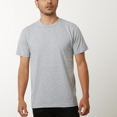 Blank T-Shirt // Heather Grey