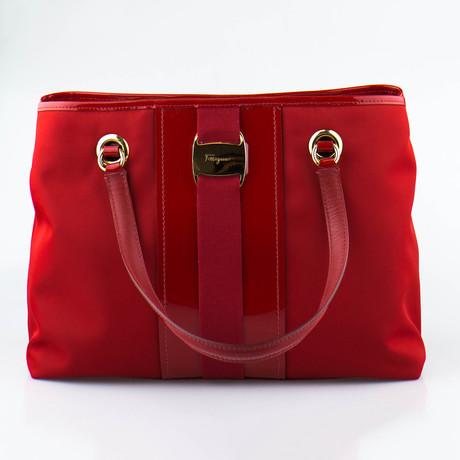 Leonora Handbag // Red