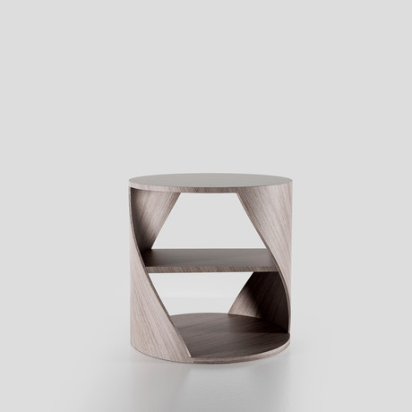 Mydna Small Table // Wood (Black Wood)