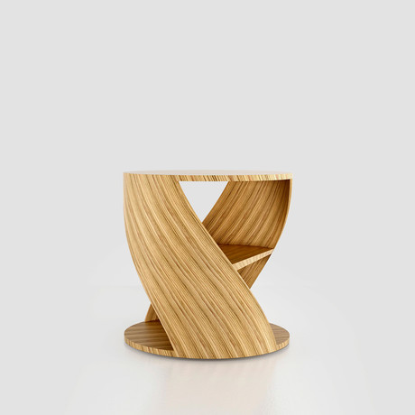 Mydna Small Table // Wood (Black Wood)