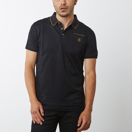Alvah Polo // Black (XS)