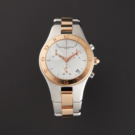 Baume & Mercier Linea Quartz // M0A10016 // Store Display