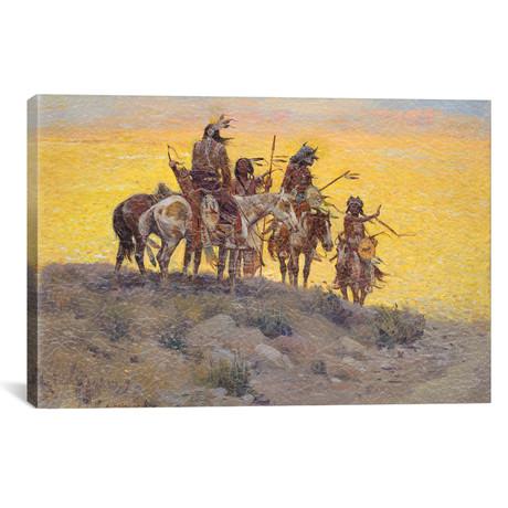 Scouts Along The Prairie // Ernest Chiriacka