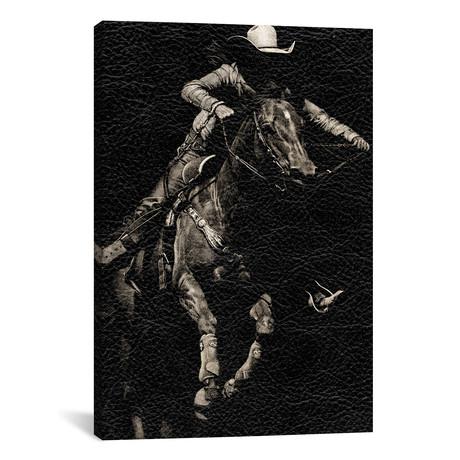 Scratchboard Rodeo IV // Julie T. Chapman // Sepia