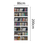Library // Bookshelf Vintage View