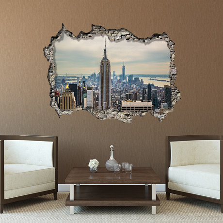 Empire Tower Day // Wall Sticker