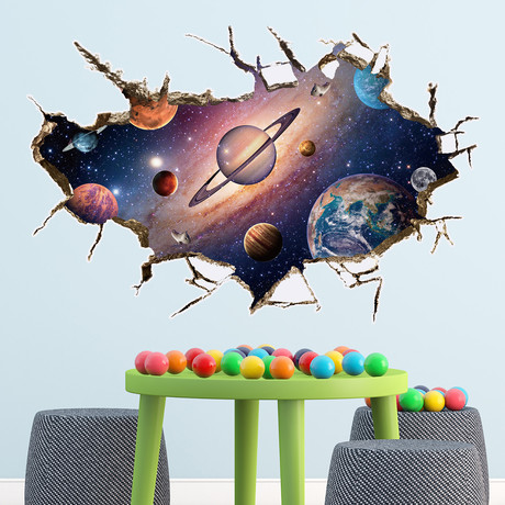 Solar System // Wall Sticker