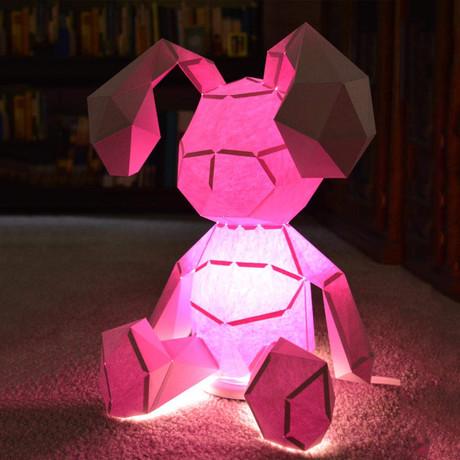 Humano Décor Paper Display // Cartoon Bunny