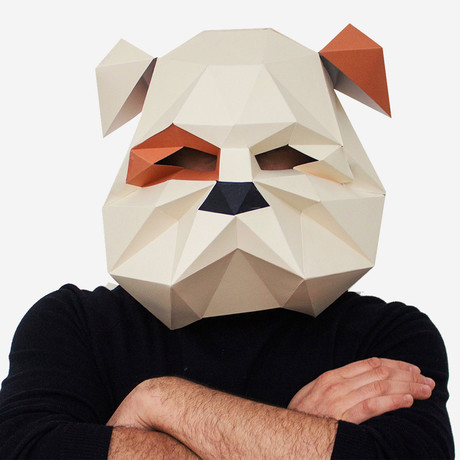 Humano Décor Mask // English Bulldog