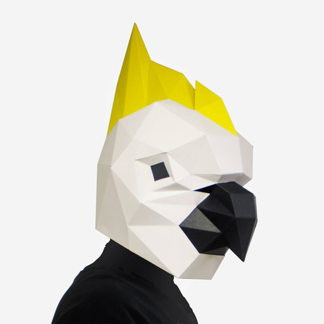 Humano Décor Mask // Parrot