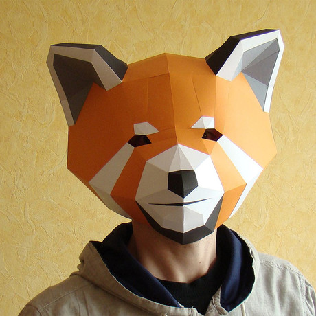 Humano Décor Mask // Raccoon
