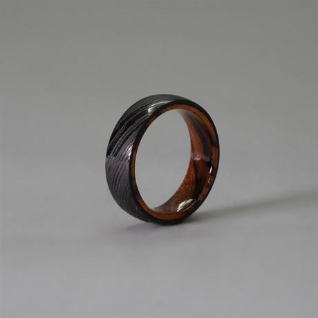 Domed // Wood Liner // Black