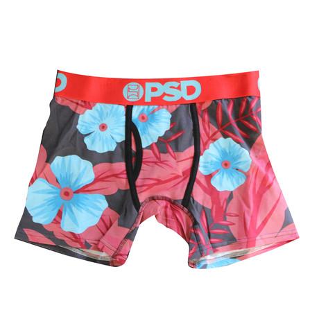 Floral Underwear // Red (S)