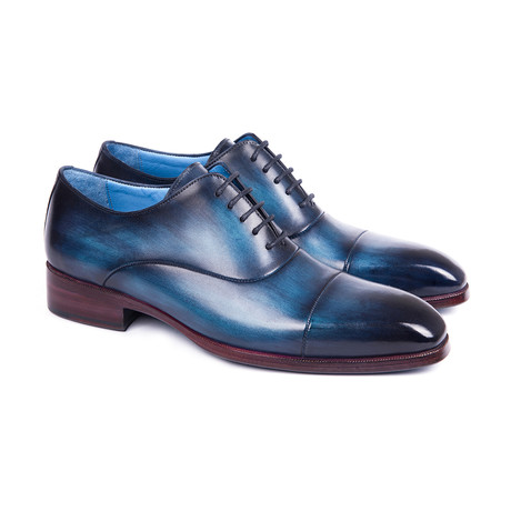 Captoe Oxfords // Blue (Euro: 38)