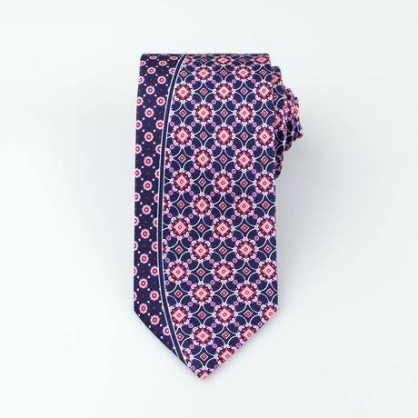 Jaycob Tie // Blue + Red